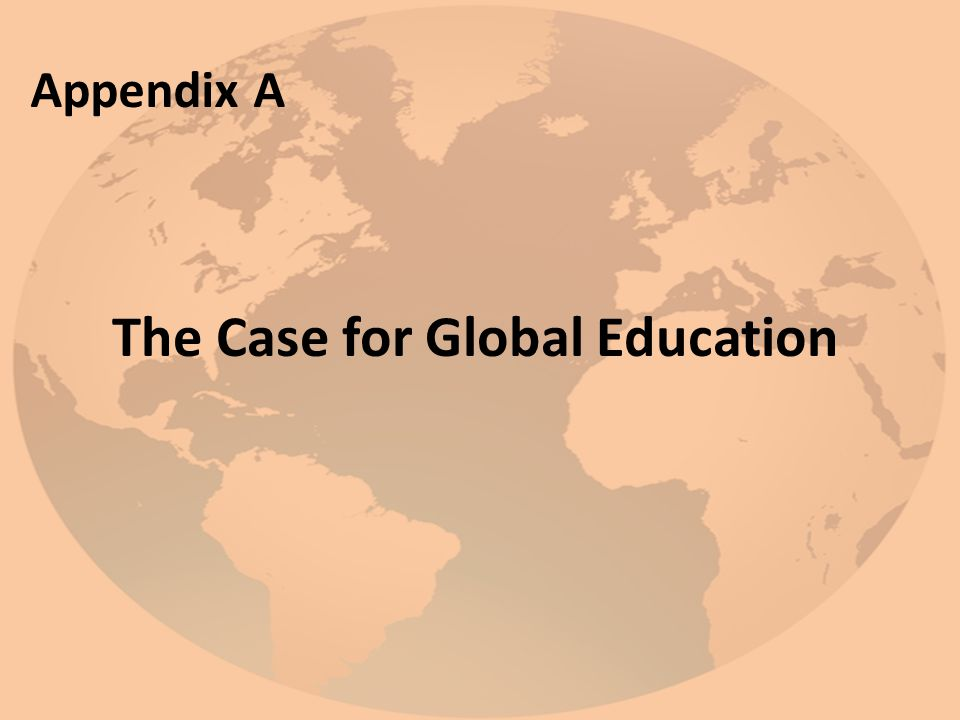 The Case for Global Education