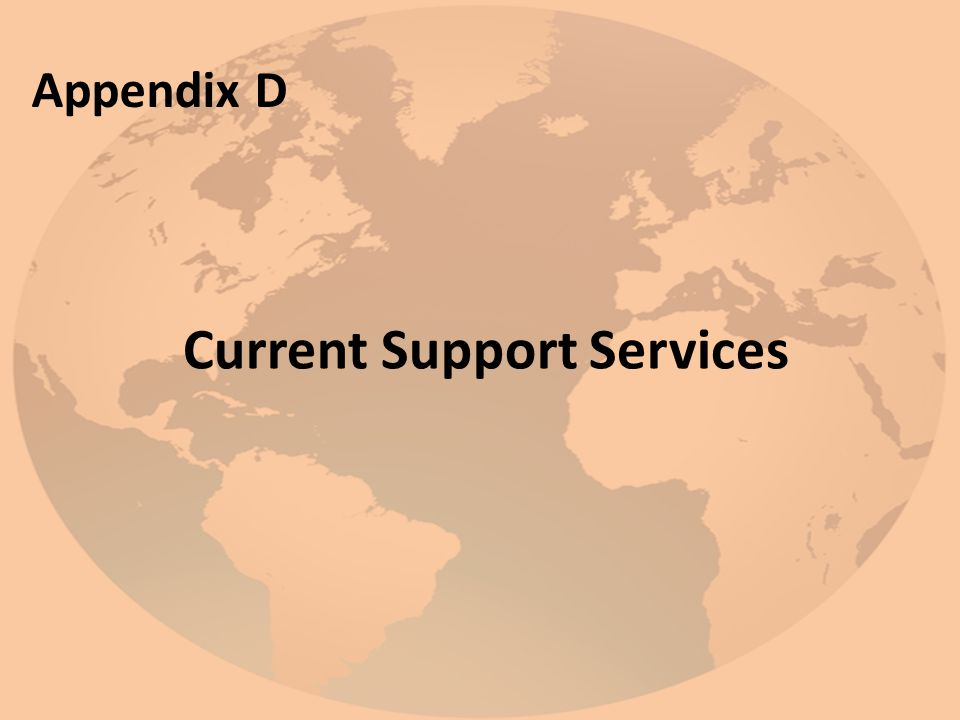 Current Support Services