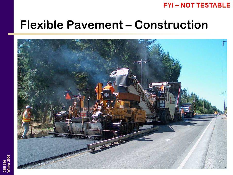 Flexible Pavement – Construction