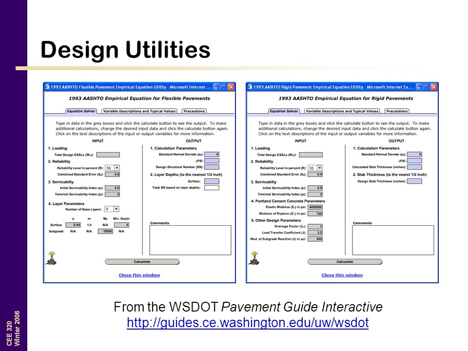From the WSDOT Pavement Guide Interactive