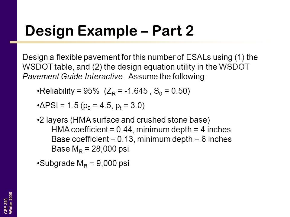 Design Example – Part 2