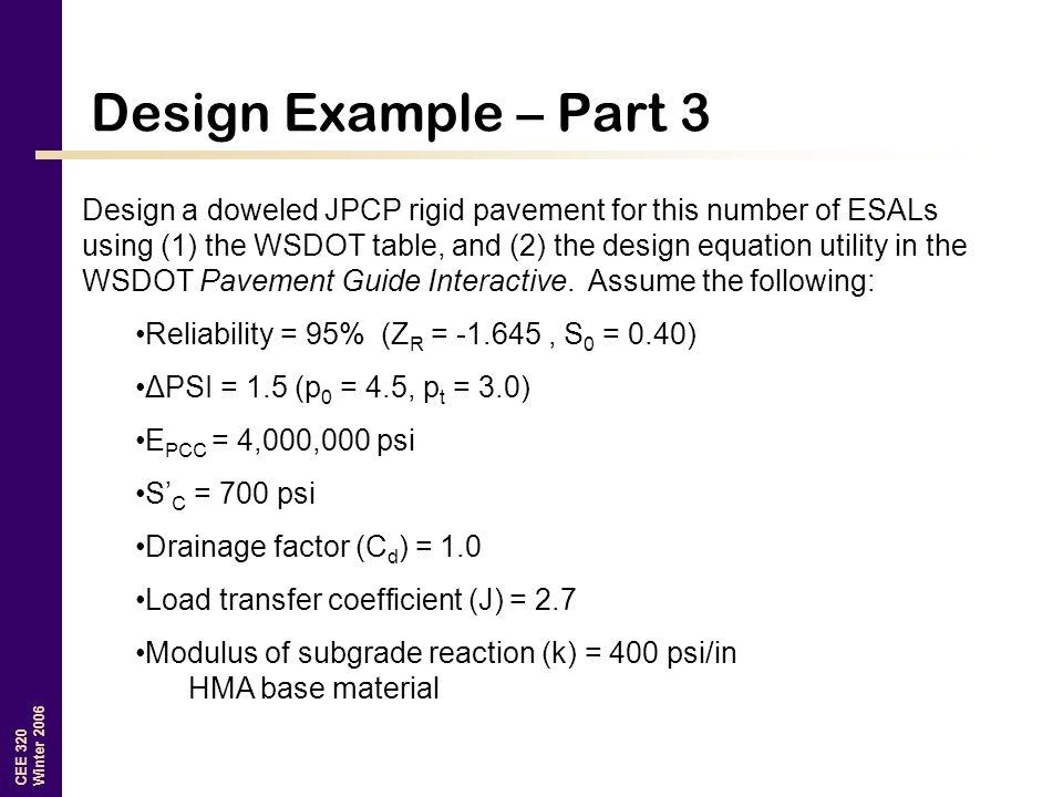 Design Example – Part 3
