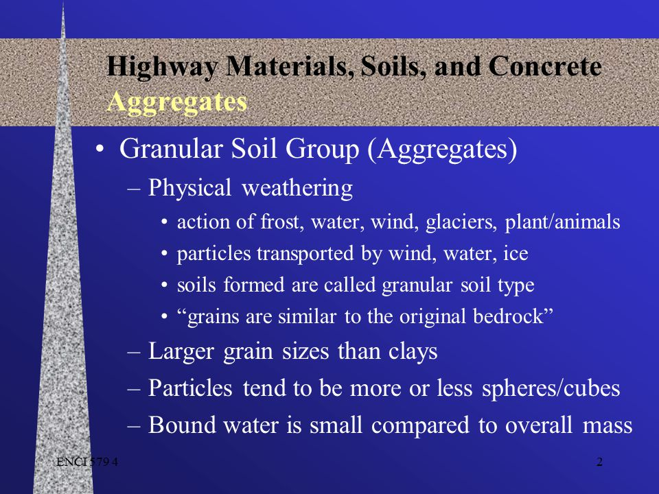 Highway Materials, Soils, and Concrete Aggregates