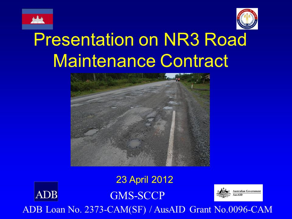 Presentation on NR3 Road Maintenance Contract