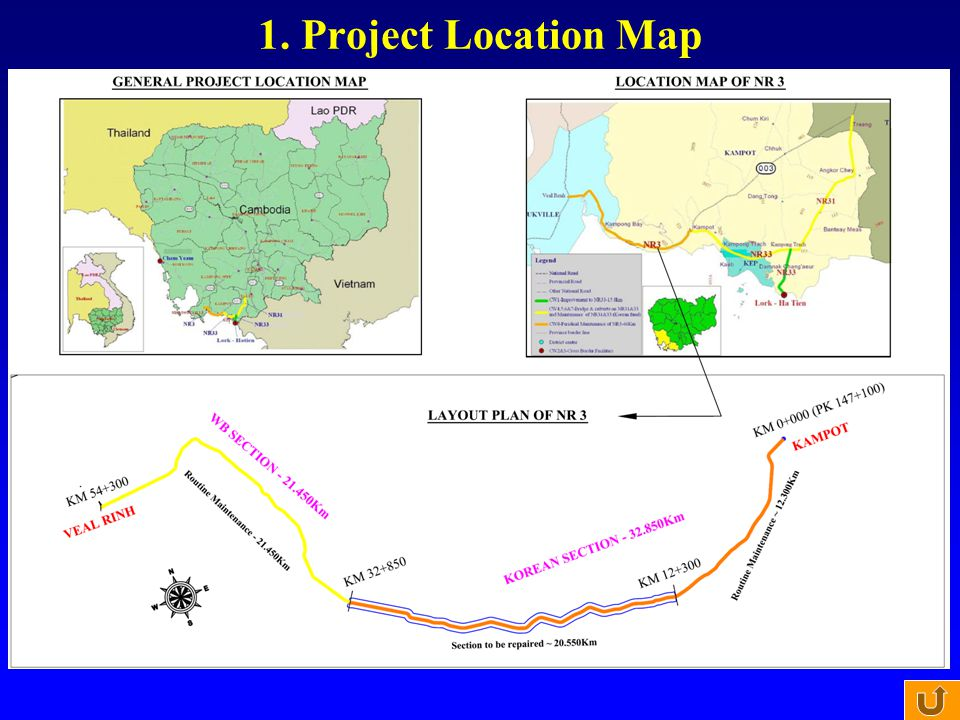 1. Project Location Map