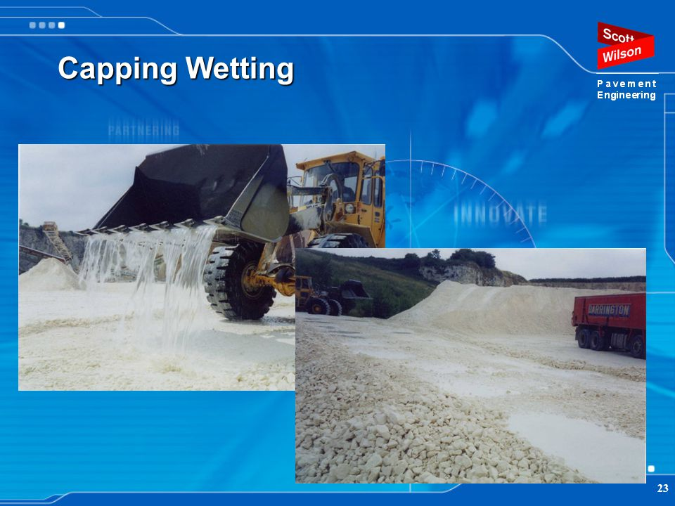 Capping Wetting