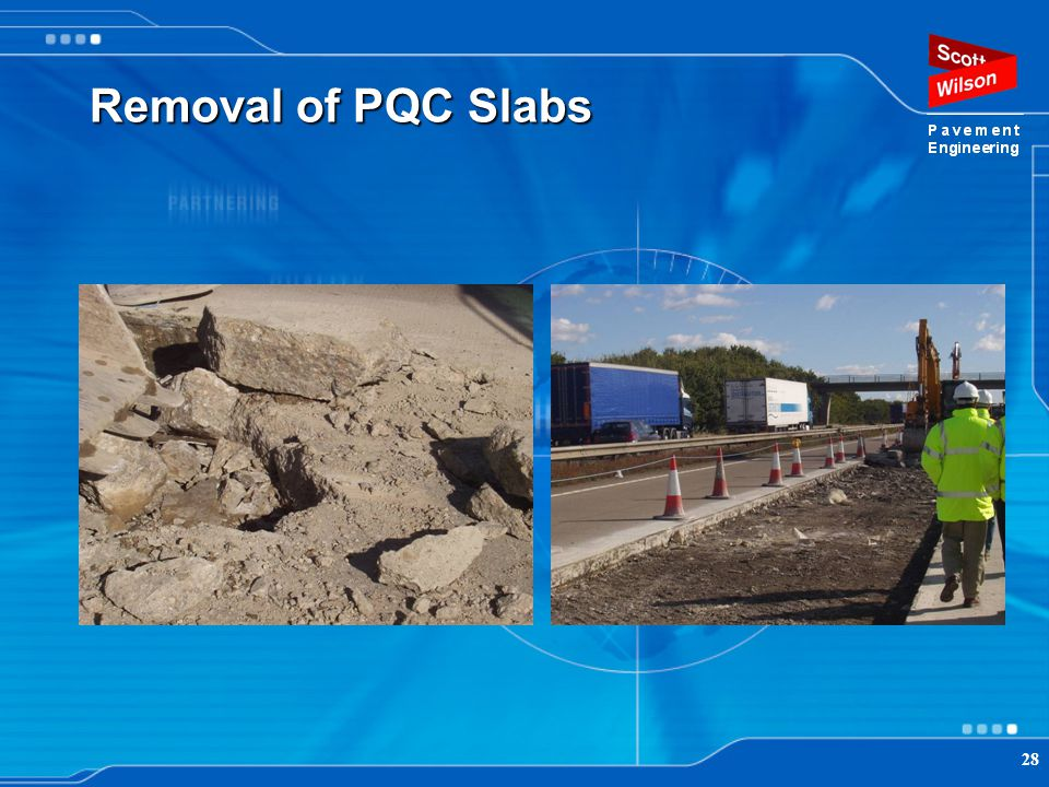 Removal of PQC Slabs