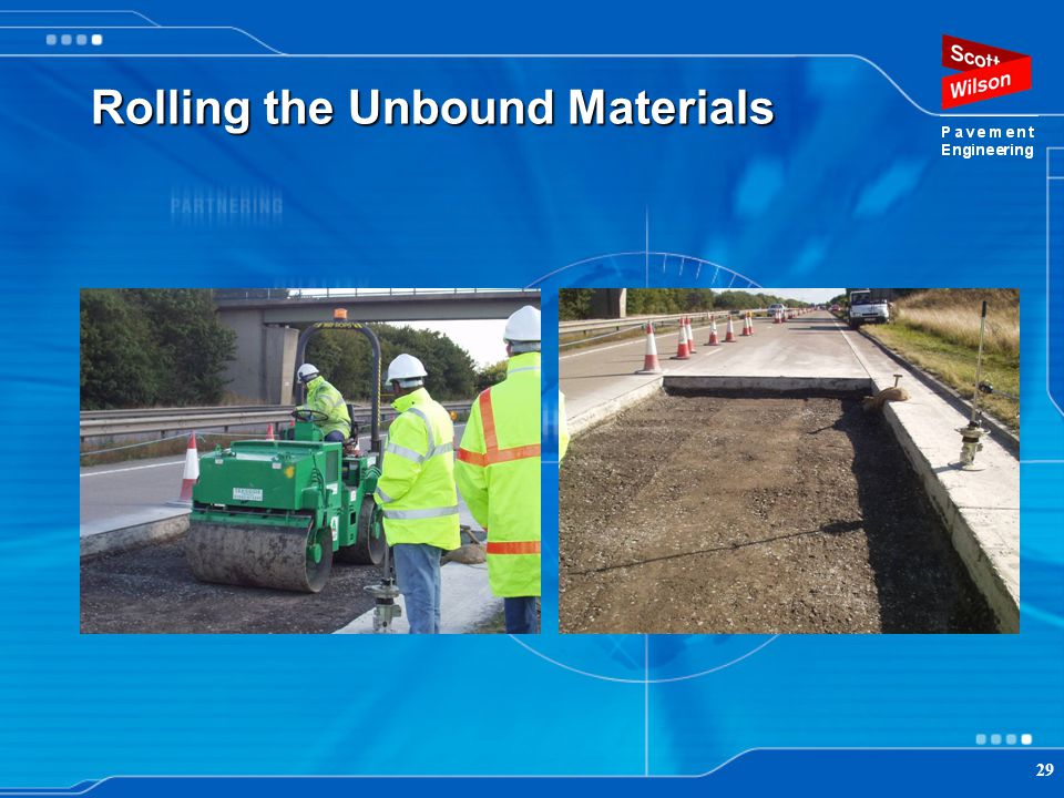 Rolling the Unbound Materials