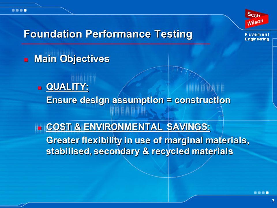 Foundation Performance Testing