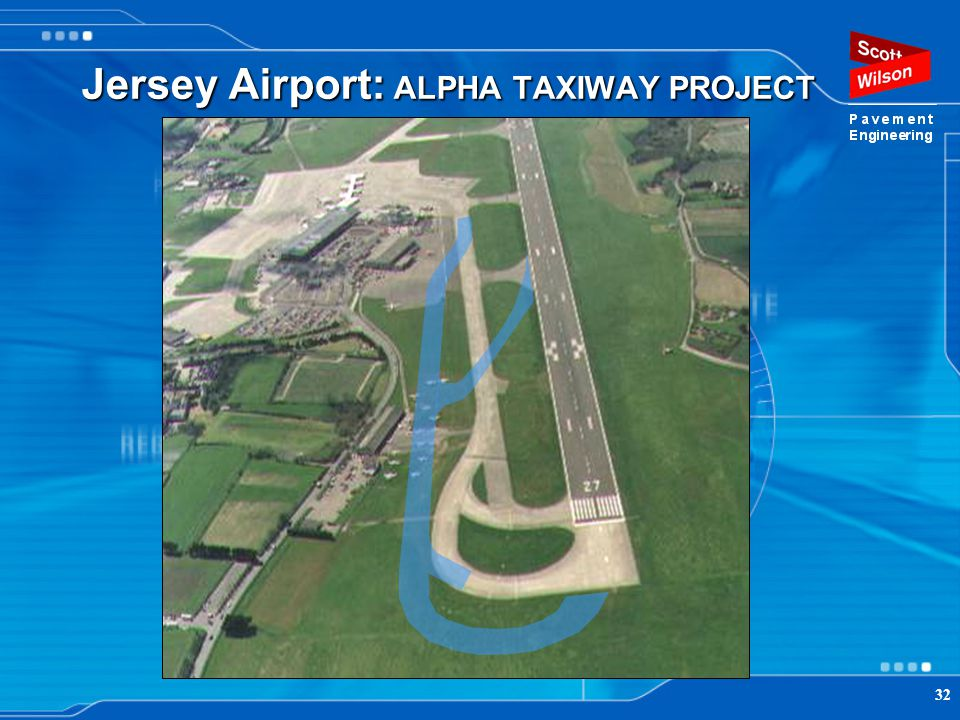 Jersey Airport: ALPHA TAXIWAY PROJECT