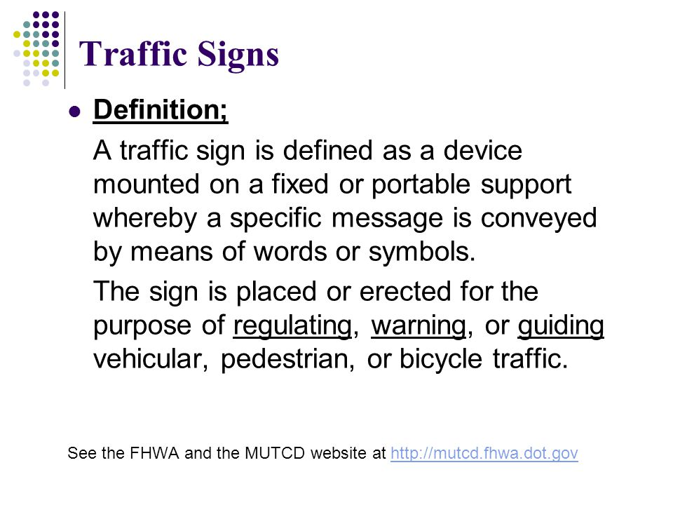Traffic Signs And Markings Ppt Video Online Download