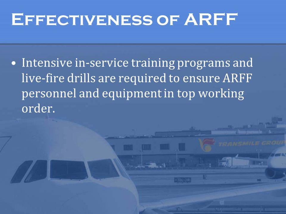 Effectiveness of ARFF