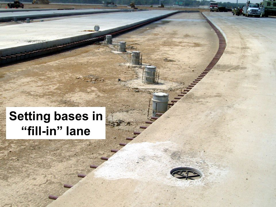 Setting bases in fill-in lane