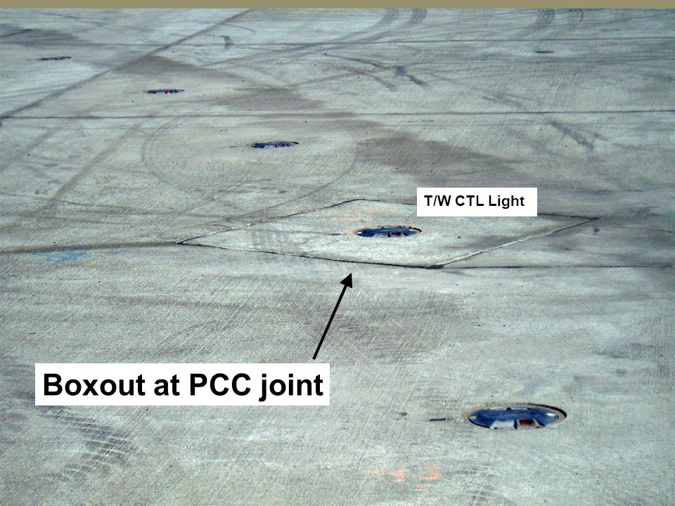 T/W CTL Light Boxout at PCC joint