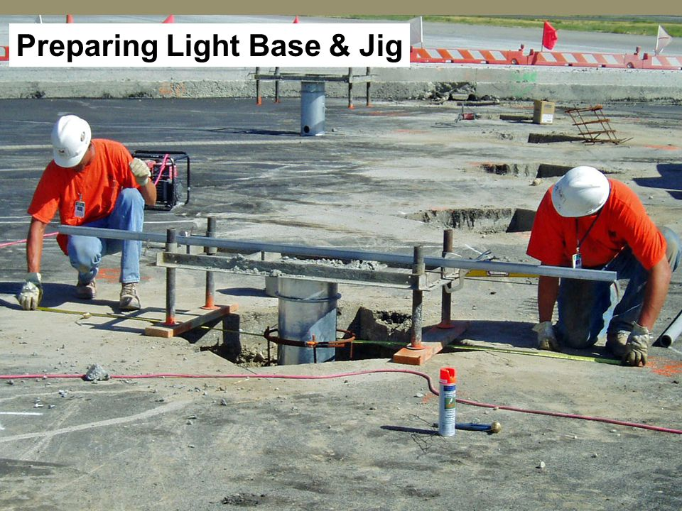 Preparing Light Base & Jig