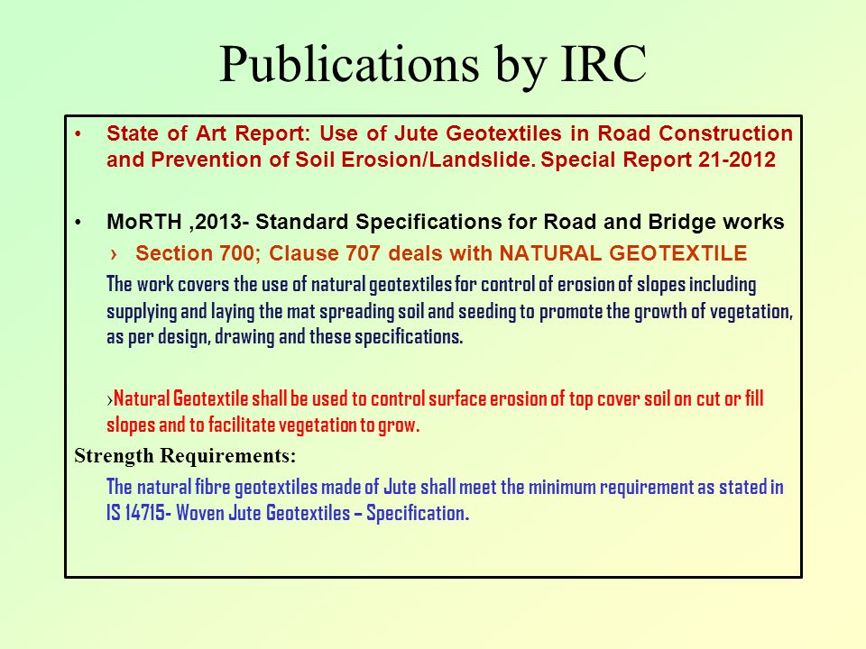 Publications by IRC