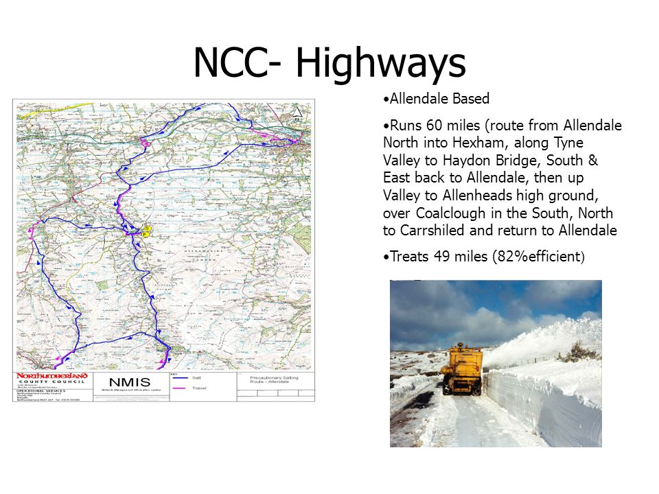 NCC- Highways Allendale Based