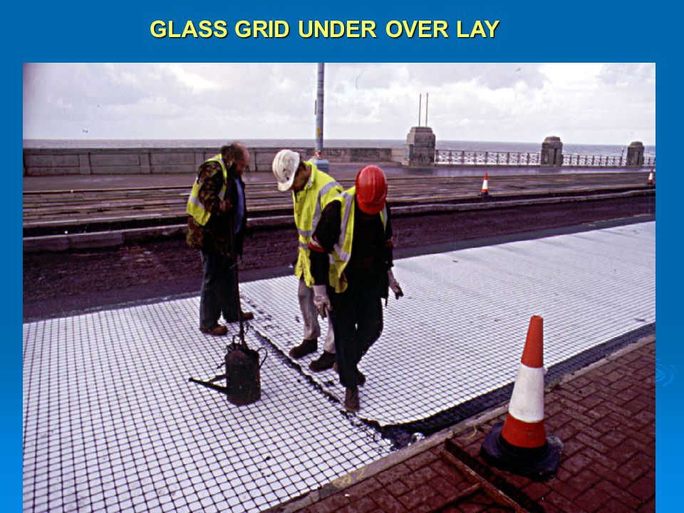 GLASS GRID UNDER OVER LAY