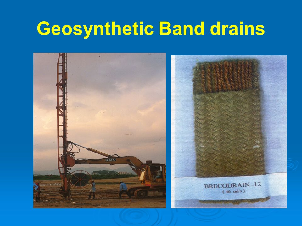 Geosynthetic Band drains