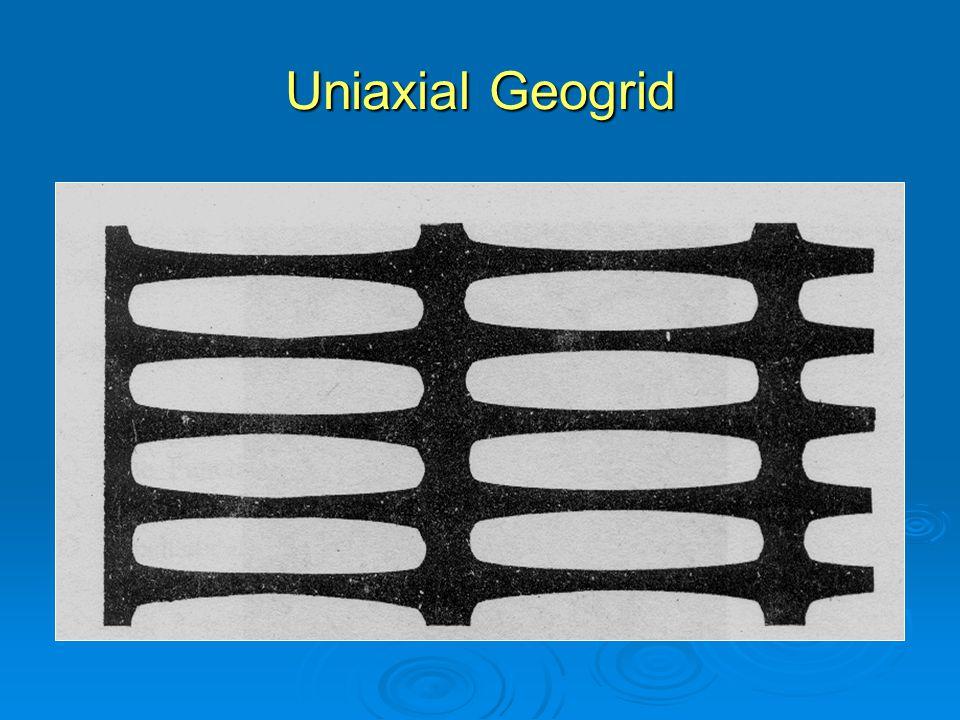 Uniaxial Geogrid