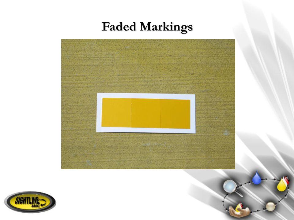 Faded Markings