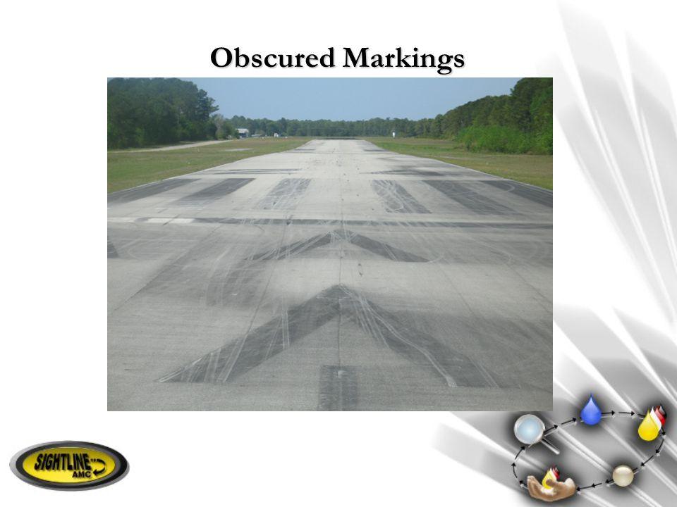Obscured Markings
