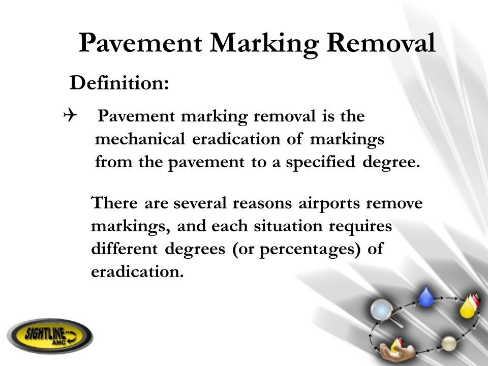 Pavement Marking Removal