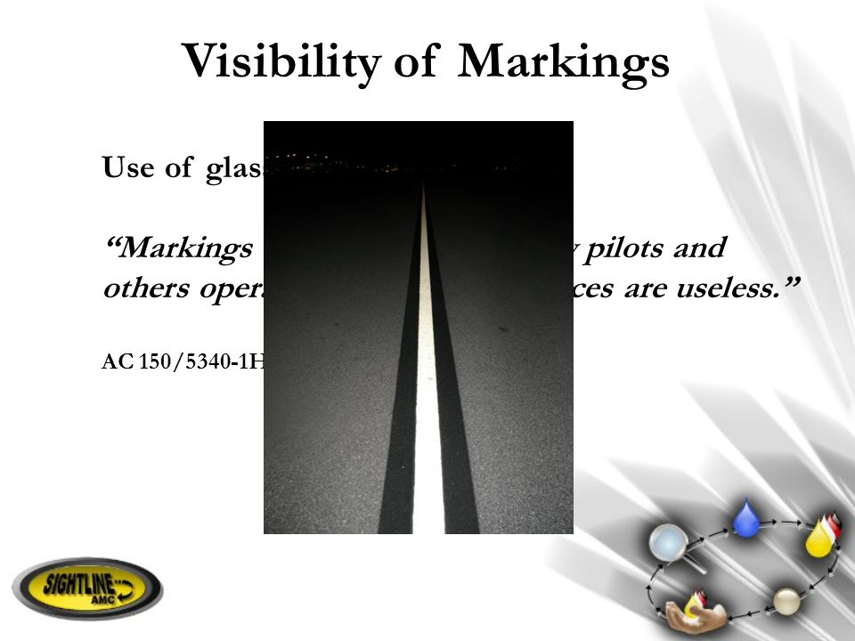 Visibility of Markings