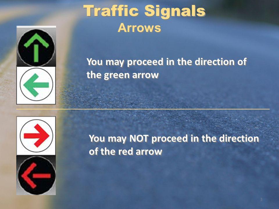 Traffic Signals Arrows