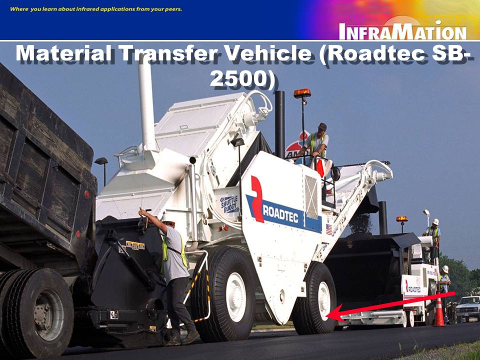 Material Transfer Vehicle (Roadtec SB-2500)