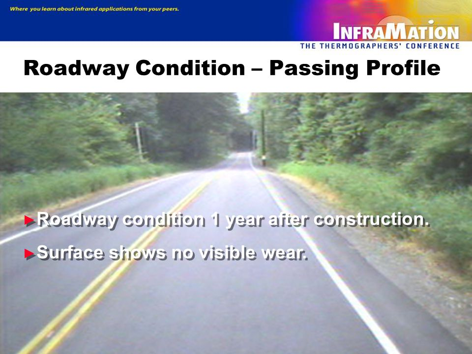 Roadway Condition – Passing Profile