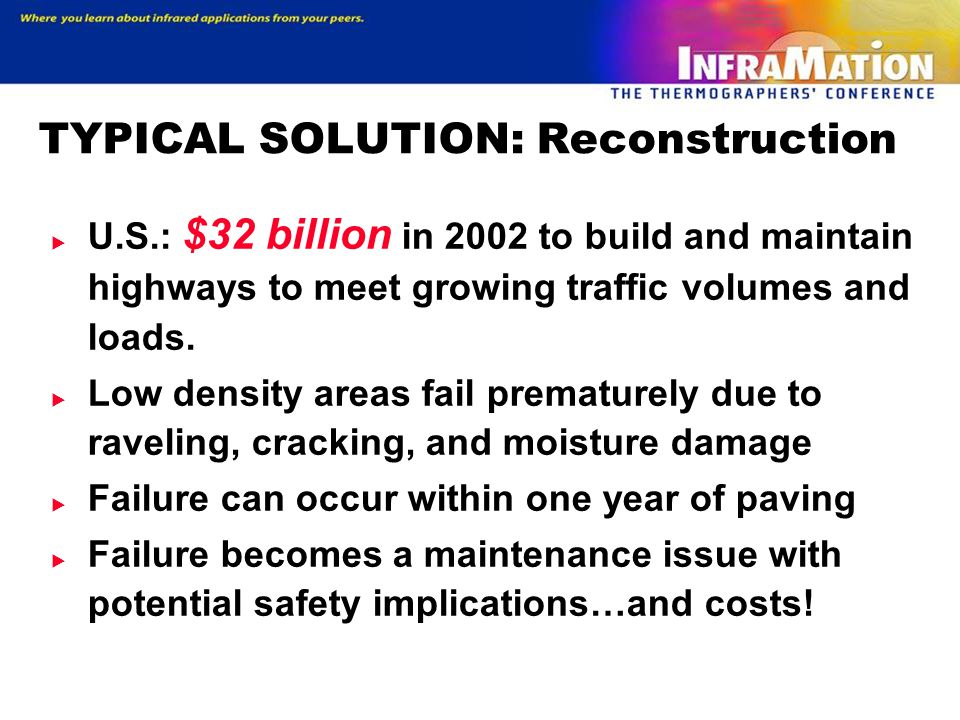 TYPICAL SOLUTION: Reconstruction