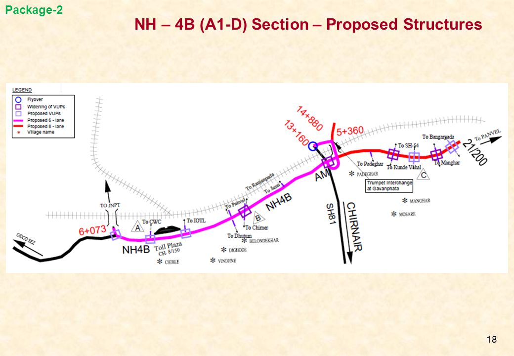 NH – 4B (A1-D) Section – Proposed Structures