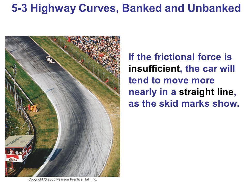 5-3 Highway Curves, Banked and Unbanked