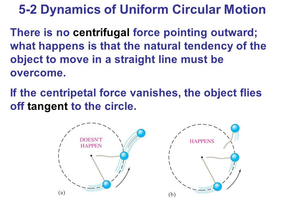 5-2 Dynamics of Uniform Circular Motion
