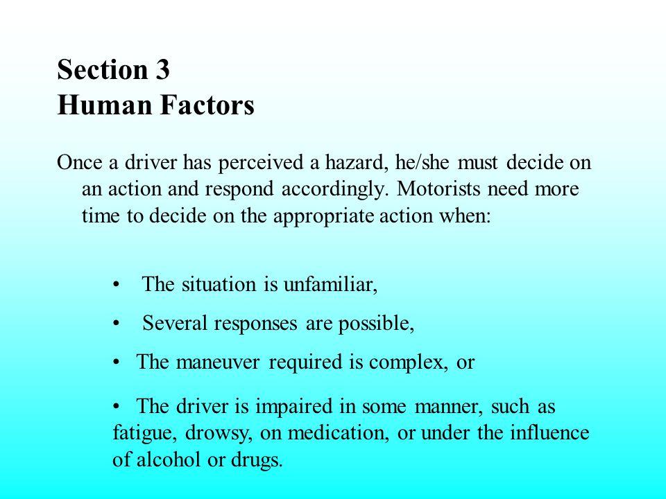Section 3 Human Factors