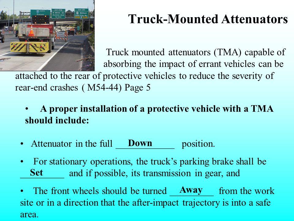 Truck-Mounted Attenuators