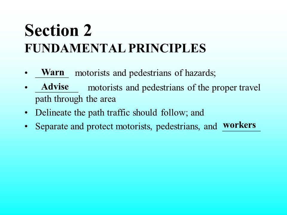 Section 2 FUNDAMENTAL PRINCIPLES