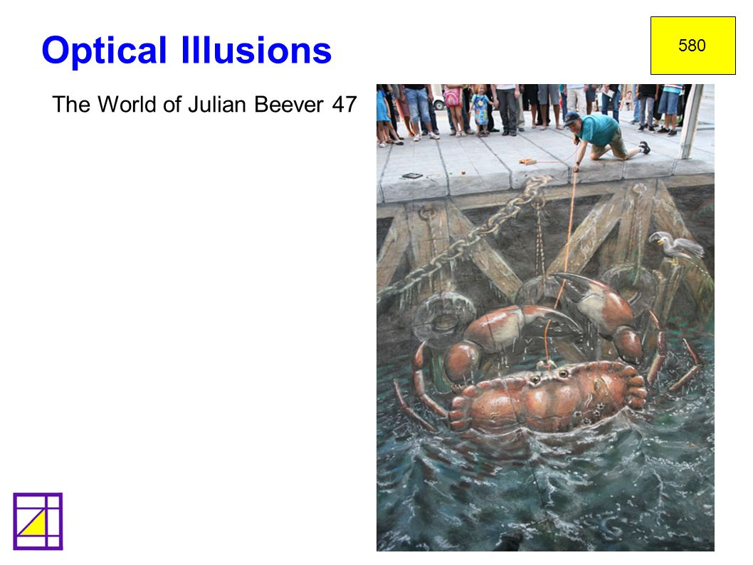 580 Optical Illusions The World of Julian Beever 47 34