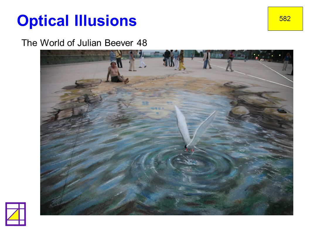 582 Optical Illusions The World of Julian Beever 48 36
