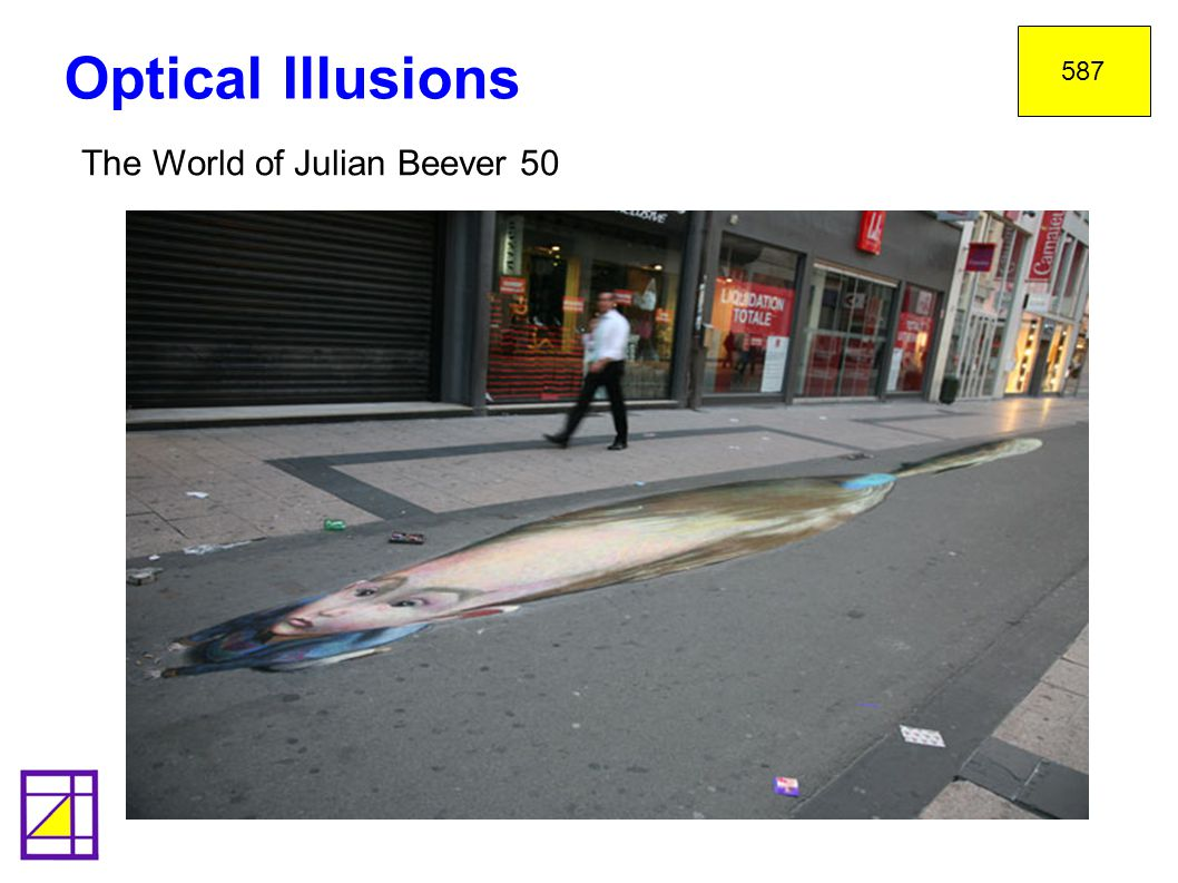 587 Optical Illusions The World of Julian Beever 50 41