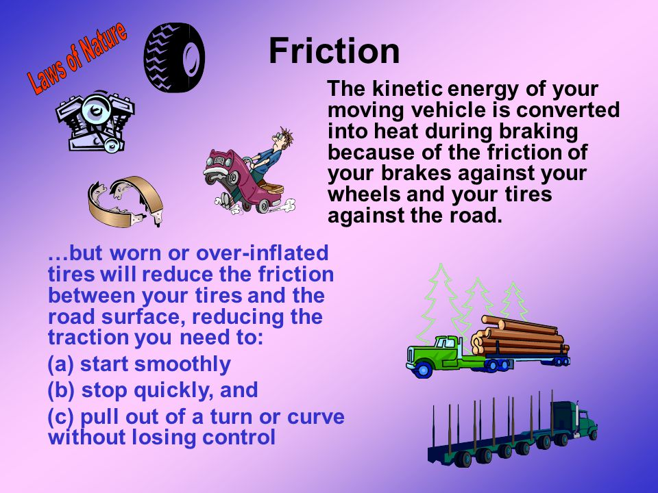 Friction Laws of Nature