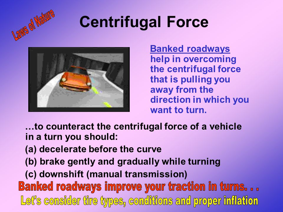 Centrifugal Force Laws of Nature