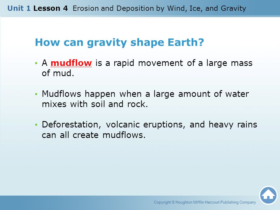 How can gravity shape Earth