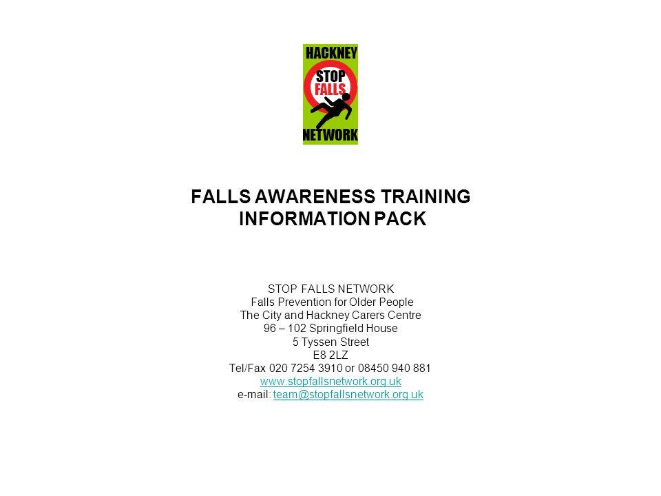 FALLS AWARENESS TRAINING INFORMATION PACK