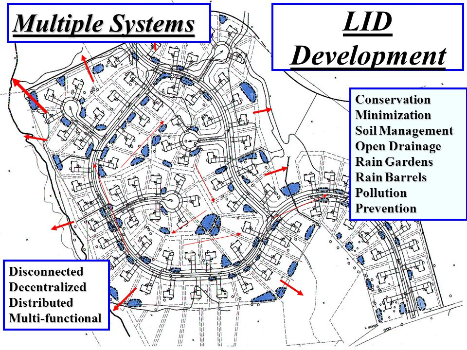 LID Development Multiple Systems