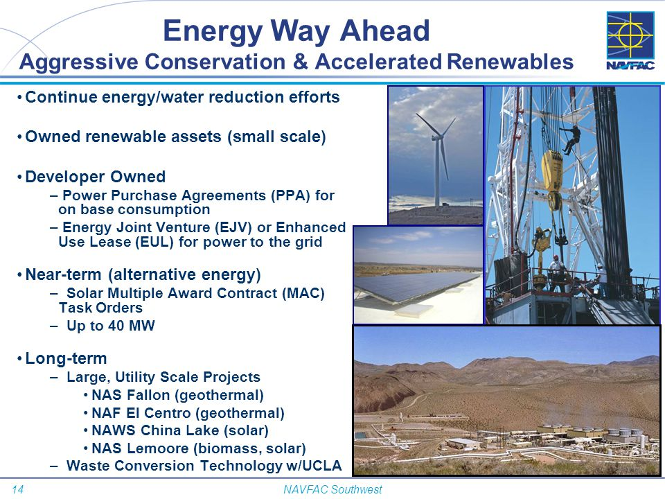 Energy Way Ahead Aggressive Conservation & Accelerated Renewables