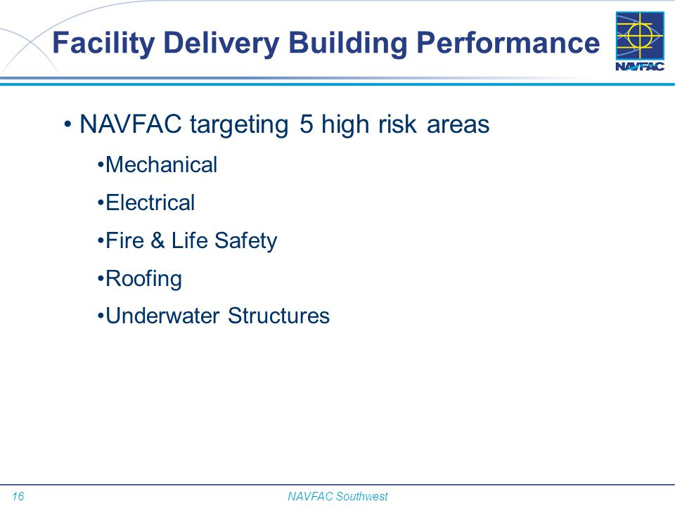 Facility Delivery Building Performance