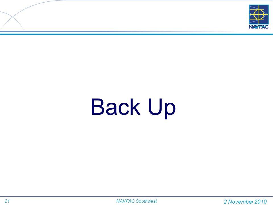Back Up 2 November 2010