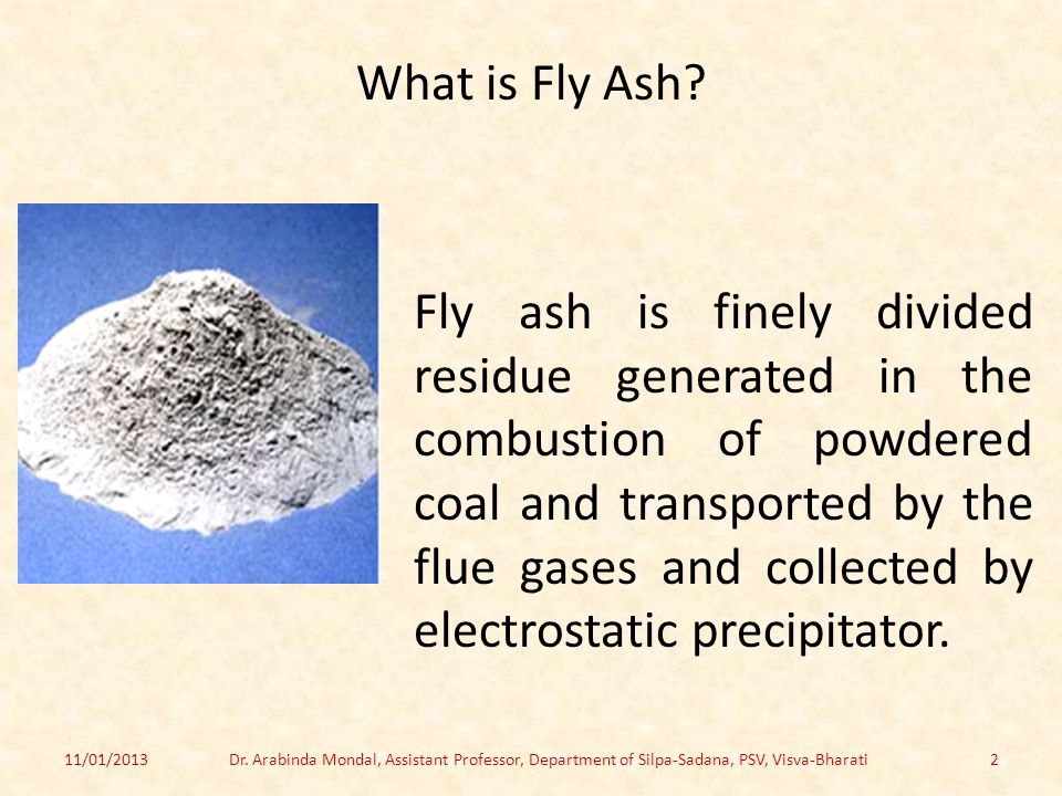 What is Fly Ash